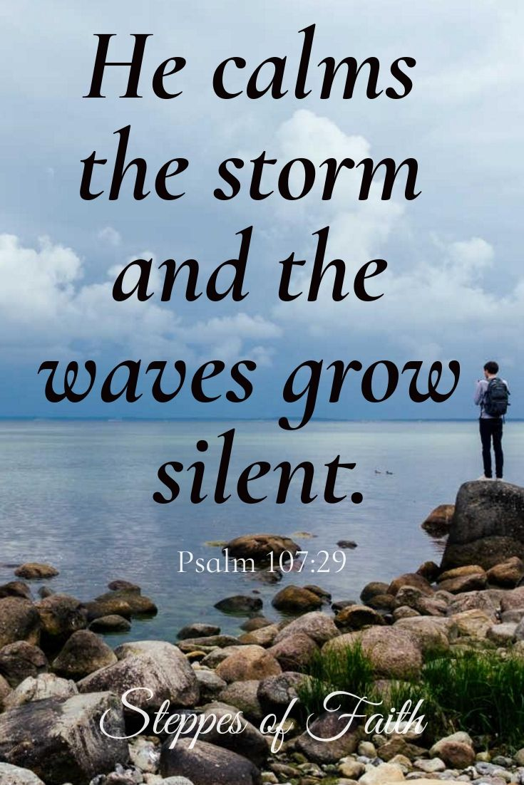 Remembering Those In The Path Of Hurricane Michael As Well As Anyone Going Through A Storm Today Feel Comforted Knowing The Faith Peace Scripture Ocean Words