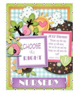 46 best lds nursery ideas images on pinterest primary for Idea door primary sharing time