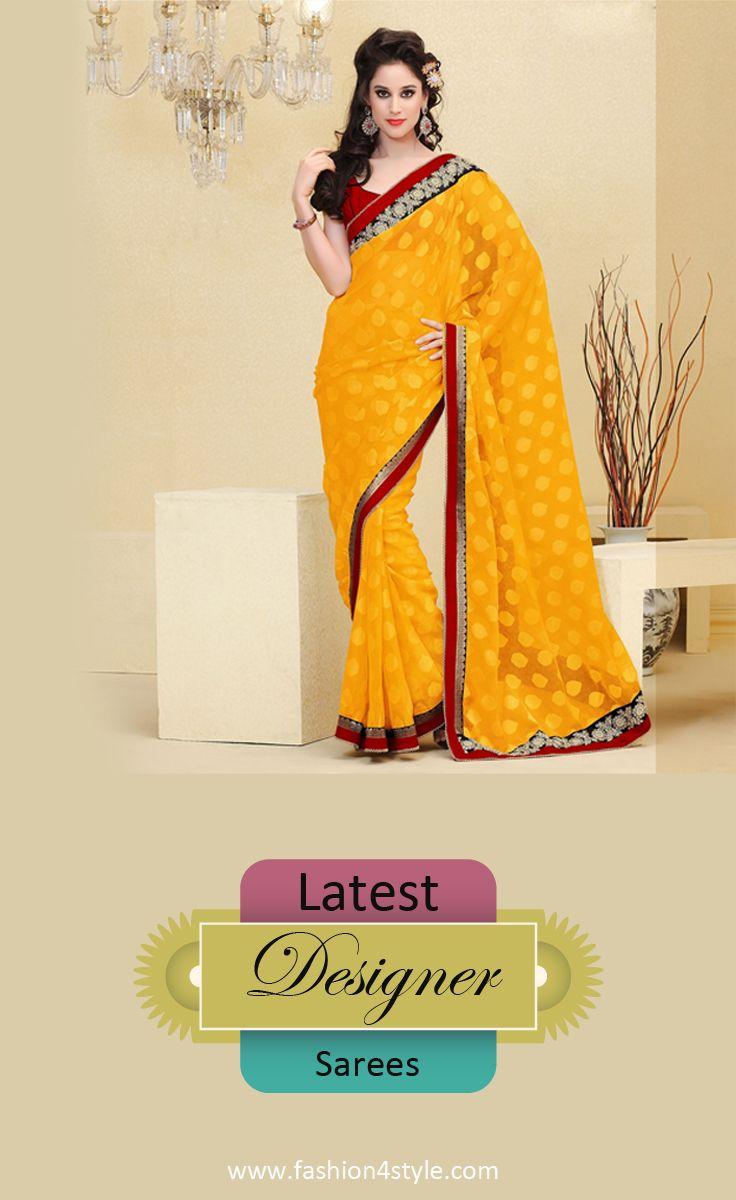 Latest Designer Saree Sale http://www.fashion4style.com/woman/clothing/designer-sarees   #follow #love #India