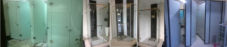 shower screen glass to glass