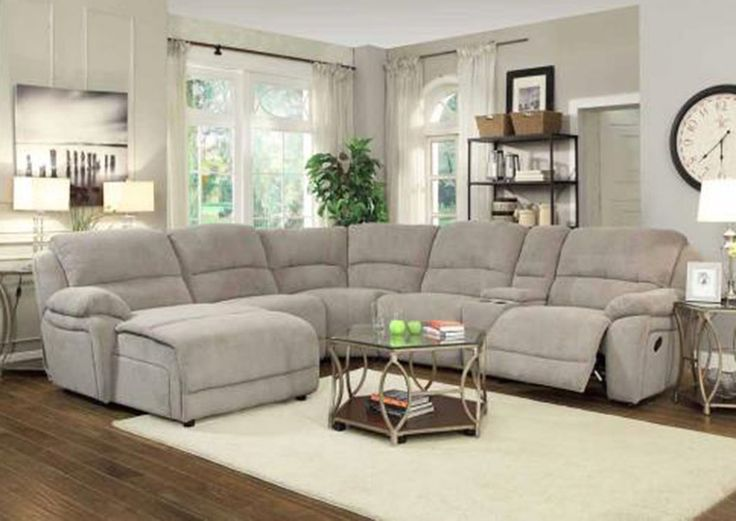 Value City Furniture Aurora: 1000+ Ideas About Reclining Sectional On Pinterest