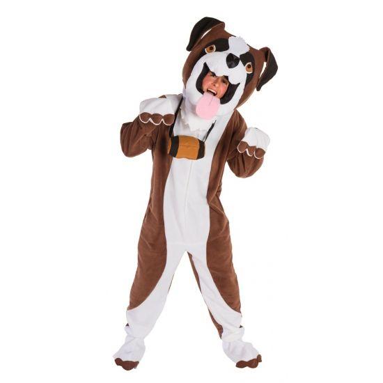 Sint Bernard honden kostuum met masker  Sint Bernard honden kostuum voor volwassenen. Sint Bernard honden kostuum met een rits op de voorzijde. Inclusief masker en tonnetje welke los te halen zijn. Het kostuum betreft een one size artikel en past tot maat L.  EUR 64.95  Meer informatie