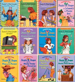 Junie B. Jones!!  Reading these books with my kids makes me laugh too!  Try it out for a good pick me up!