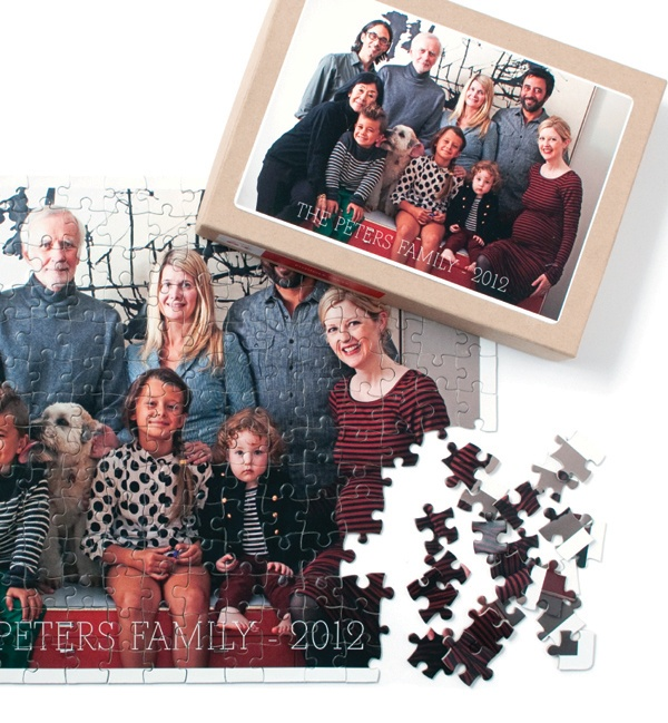 Personalized puzzle for hours of fun for all ages!