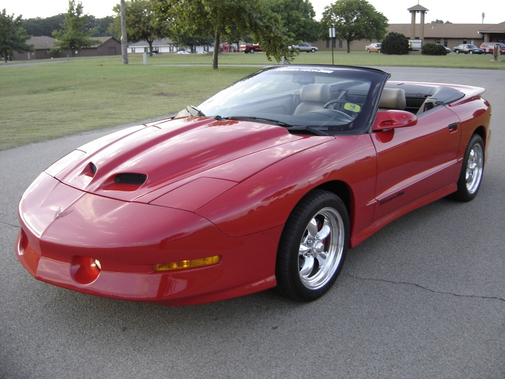 1995 Pontiac Trans Am Ws6 Convertible 6 Speed 2402 Less