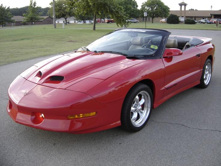 1995 pontiac trans am ws6 convertible 6 speed 2402 less. Black Bedroom Furniture Sets. Home Design Ideas