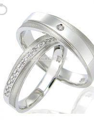 Cincin Kawin Emas Putih + Palladium - GD42093 cincin kawin muslim