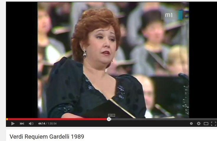 Verdi:  Reqiuem - Gardelli - 1989.