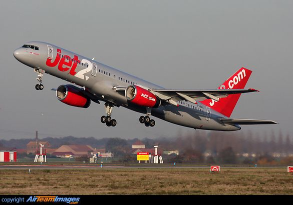 British - Boeing 757-236 Jet2 Airlines