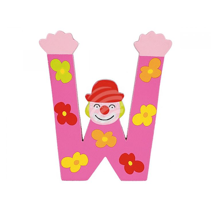 Wooden Letter W from wholesale and import