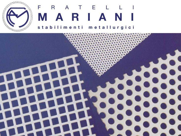 Tôle perforée et déployée TOILES METALLIQUE by Fratelli Mariani