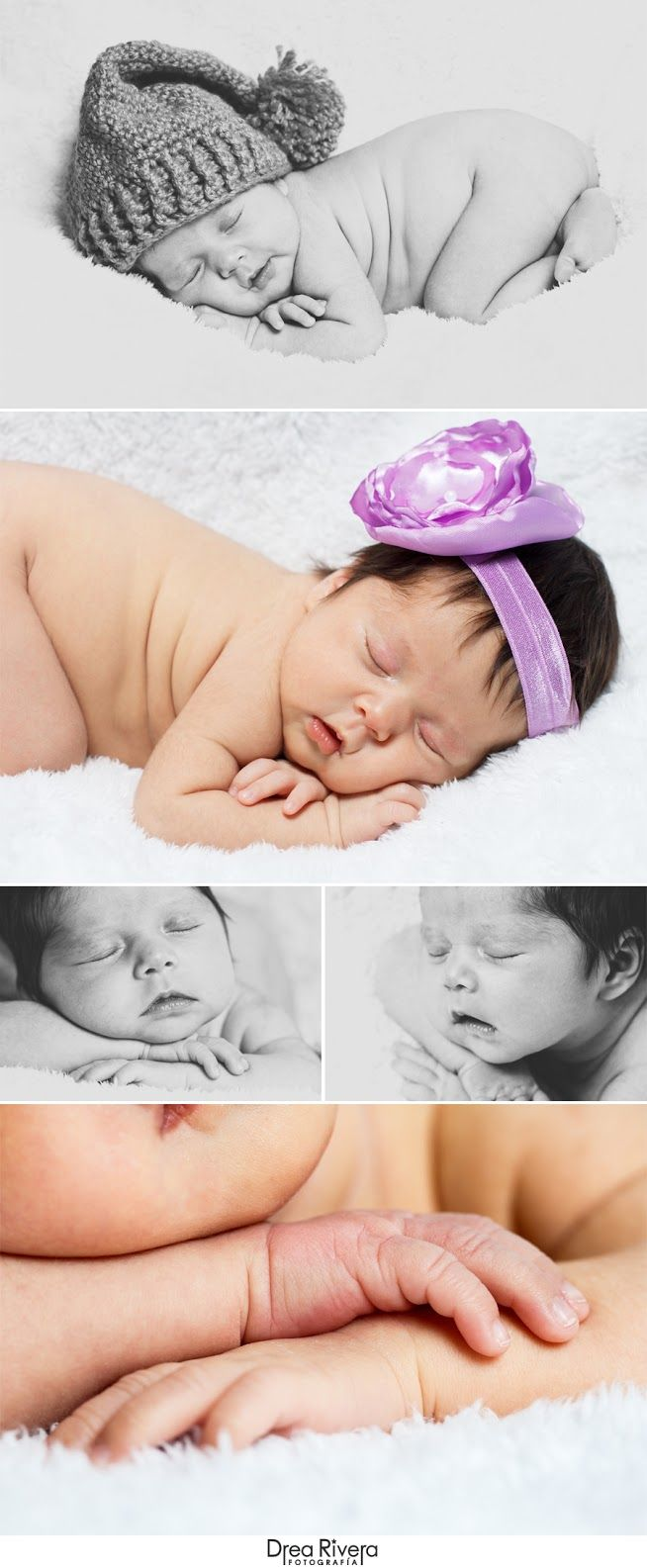 sesión de fotos de bebé recién nacido / baby newborn photoshoot by Drea Rivera