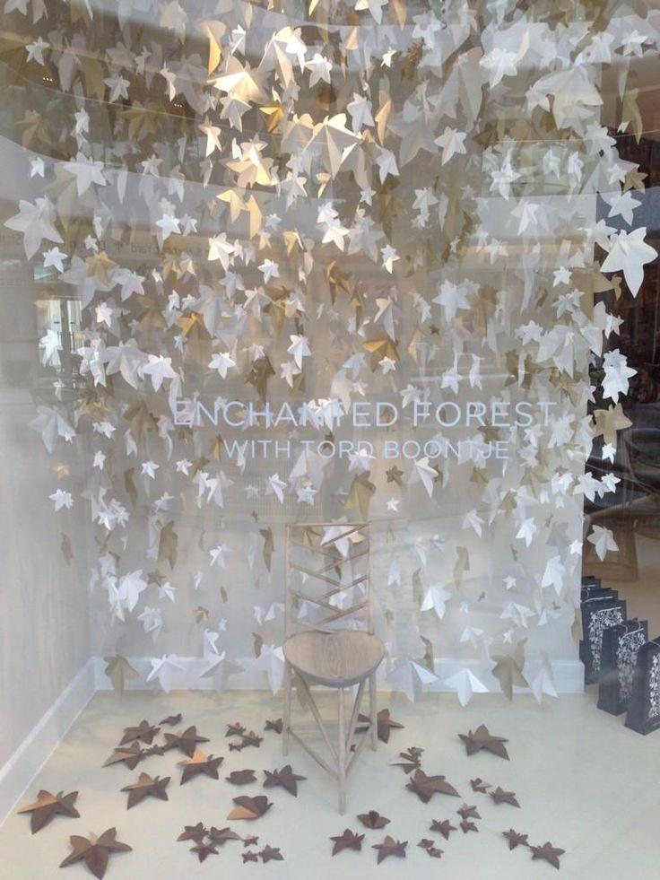 Porta Romana Showroom - Window display by Zoe Bradley Design