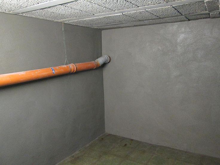 Stappenplan om uw kelder zelf terug waterdicht  te maken d.m.v. bekuiping met Lamscobel Waterdichtingsmortel.