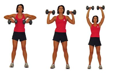 Shoulder Exercises: Clean & Press