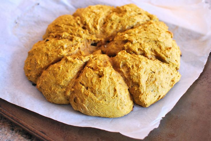 Jour 5 du défi santé : Scones à la citrouille. Copycat starbucks pumpkin scones.