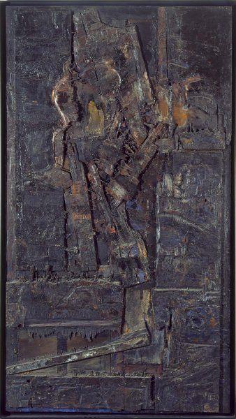 La muerte de la cigüeña. 1961. Lucio Muñoz
