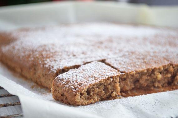 #Blechlebkuchen Grundrezept beschreibt die einfache Herstellung von köstlichen Lebkuchen - Variationen erwünscht.