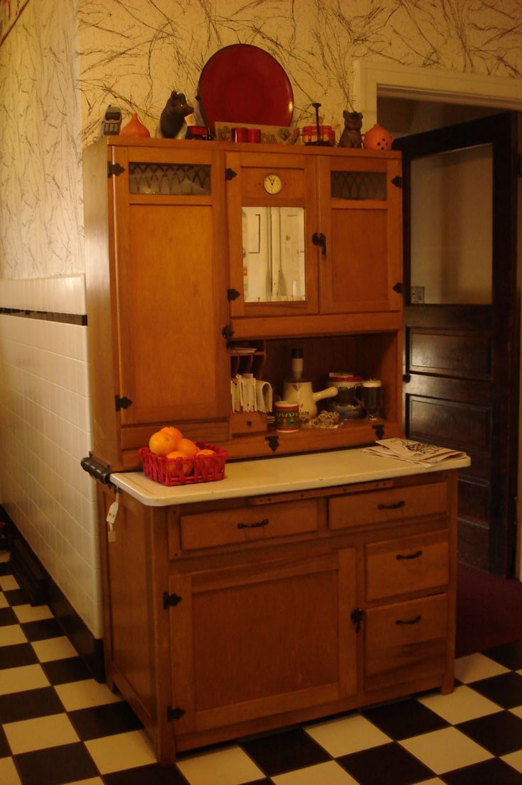 138 best hoosier images on Pinterest | Hoosier cabinet, Kitchen ...