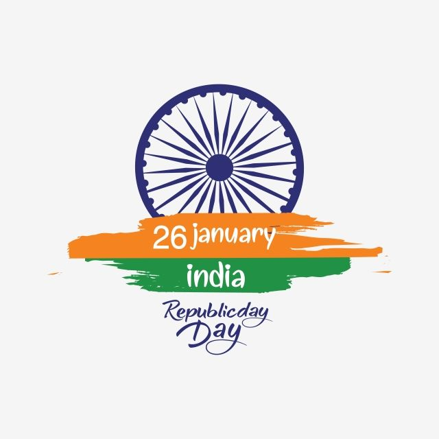 26 january image hd png indian republic day concept with text  january vector