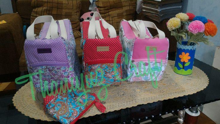 Hybrid Bag tas 4 in 1 1 tas dengan 4 cara pemakaian.