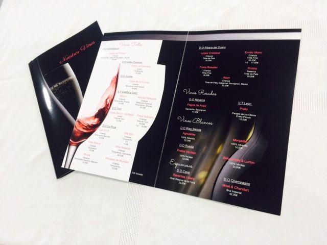 Al Son del Indiano: Nueva carta de vinos - Estrenamos carta de vinos, con nuevas referencias para maridar nuestros platos.