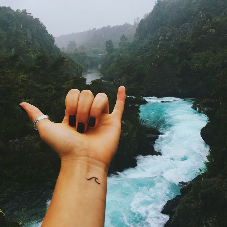My very travel photo with my new ink!