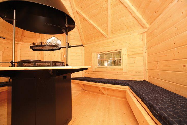 kota wolff saunakota 9 2 plus mit anbau saunahaus gartenhaus aus holz innenansicht mit. Black Bedroom Furniture Sets. Home Design Ideas