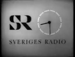 Sveriges Radio TV Clock in the
