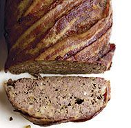 Blue Cheese and Bacon Meatloaf