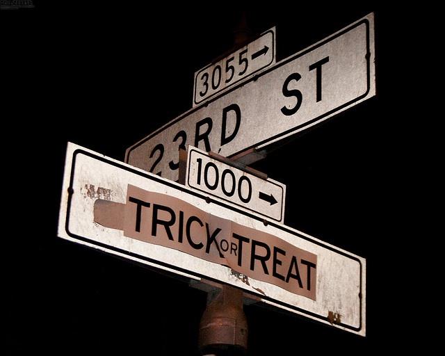 Trick or Treat Street by Orin Zebest, via Flickr. Trick or Treat Street in Halloween Town?