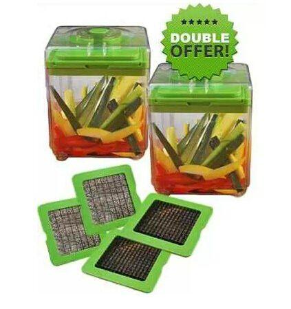 Fruit vegetal pique magia cortador frutas Dicer fiambreira cortador de frutas cortador de legumes ferramenta de cozinha alishoppbrasil
