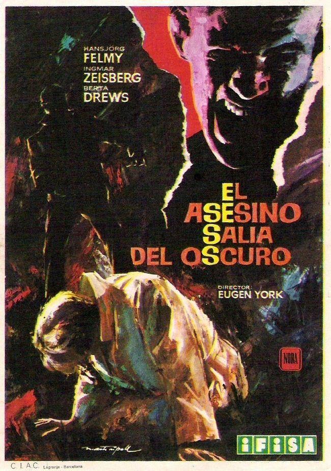 """El asesino salia del oscuro (1964) """"Nebelmörder"""" de Eugen York - tt0058395"""