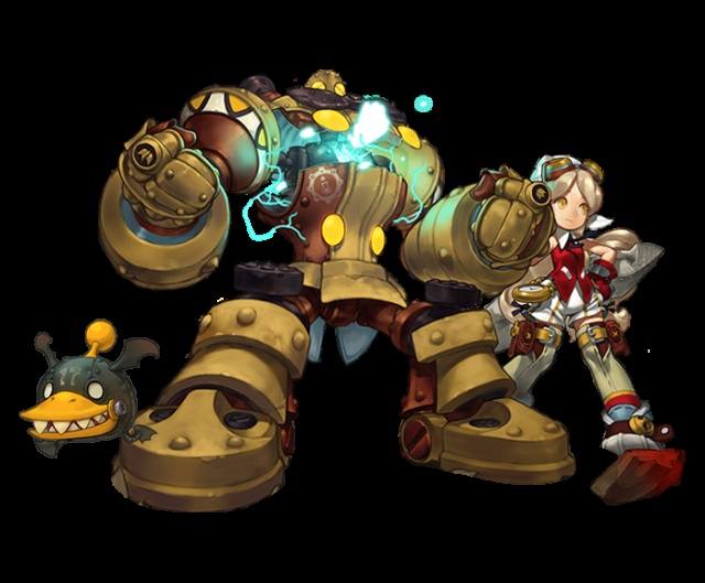 """New """"Academic"""" class cannon-blasts her way into Dragon Nest SEA"""