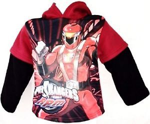Power Rangers RPM Fleece Hoodie 2T Red #ebay #trinital #PowerRangersHoodie