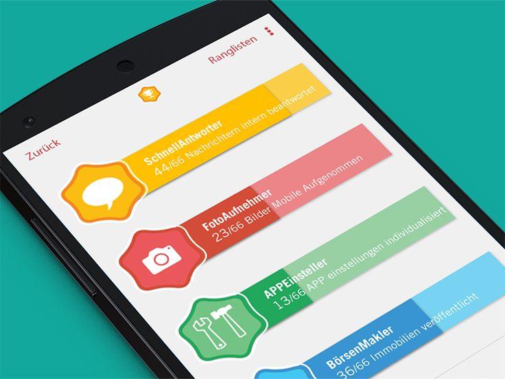 mobile UI challenges & achievements