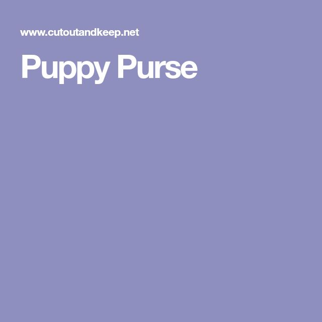 Puppy Purse - Sale! Up to 75% OFF! Shop at Stylizio for women's and men's designer handbags, luxury sunglasses, watches, jewelry, purses, wallets, clothes, underwear