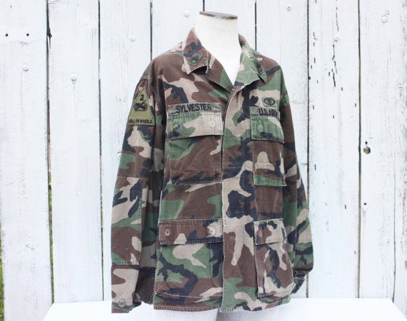 Vintage Staff Sergeant Army Medic Jacket OCP 2nd by SouthernGilt