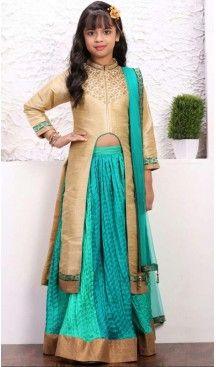 Sky Blue Color Banglory Silk Fabric Readymade Kids Girl Lehenga Choli   FH00031036 ---> Follow us @heenastyle  <----  ---  #kidsgowns #kidswear #gownstyle #allthingsbridal #bridalsuits #ethnicfashion #celebrity #bollywooddesigns #bollywoodsuits #partywear #collection #wedding #womenswear #kuwait #luxerydress #princess #kidsdesigner #robedeprincesse #anniversaireenfant #vestitibambini #Turkey #istanbul #couturekidsclothes #kidstrends #heenastyle