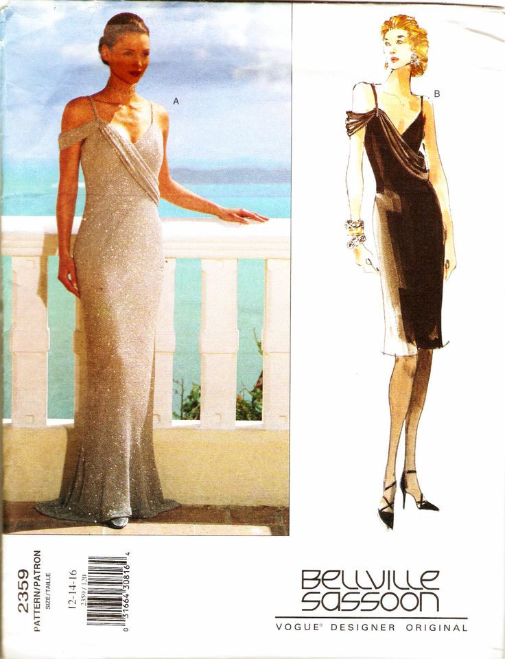 The 114 best Evening Dress Sewing Patterns images on Pinterest ...