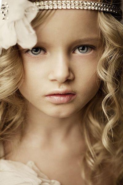 beauty, blonde, blue eyes, child