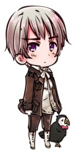 This is what Hetalia character my brother says he is. He is not. If you got to meet him you would know. I rest my case.