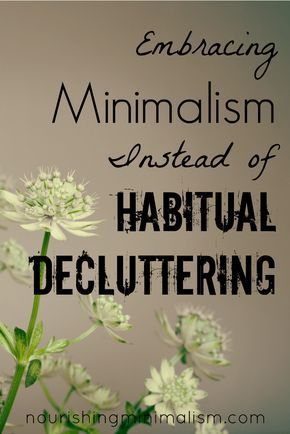 When decluttering becomes the focus, rather than just a venue for lifestyle change, it needs to be addressed. Click here to read more.