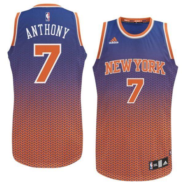 9ba402c0 ... 2013 New York Knicks Carmelo Anthony Blue Drift Fashion NBA Jerseys Buy Carmelo  Anthony New York Knicks 2013 Christmas Day Orange Swingman ...