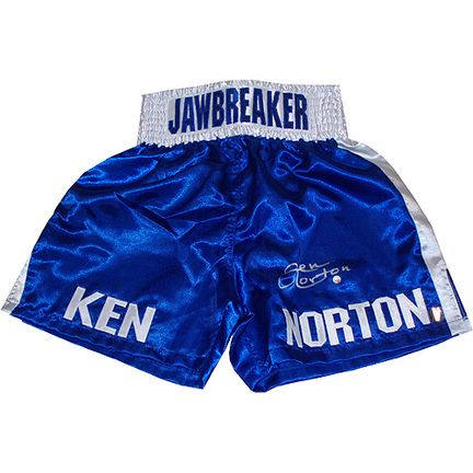Ken Norton Autographed Everlast Blue Trunks: This item is hand signed by former Heavyweight Champ Ken… #Sport #Football #Rugby #IceHockey