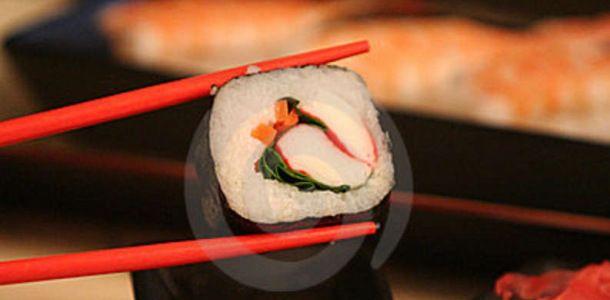 Receta para sushi de cangrejo