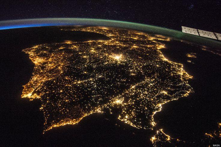 Así se veía la península ibérica el 26 de julio desde el espacio (FOTO)