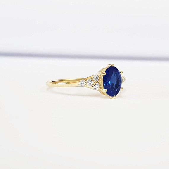 2a46a1b93e379 Sapphire and diamond art deco 1920's inspired engraved engagement ...