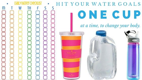 Benefits of Drinking Water | FREE water checklist printable
