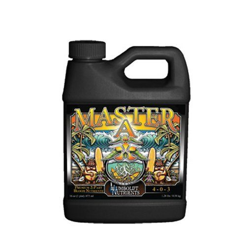 Humboldt Nutrients HNMA405 Master A Germination Kit, 32-Ounce by Humboldt Nutrients. $20.18. Vigorous, non-toxic program for use on any plant. For use in any growing medium. Professional 2-part premium nutrient program. Maintains a lower overall salt index. Master a is 4-0-3 formulation. We would all like to master something in our lifetime. If you are looking for a professional 2-Part Premium Base Nutrient Program that outperforms the competition, you're look...